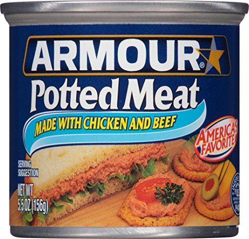 Armour Star Potted Meat, Chicken and Beef, 5.5 Ounce (Pack of 24) (Sandwich Beef Recipes)