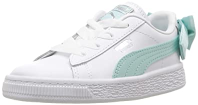 PUMA Baby Basket Bow Slip On Sneaker bb9594095