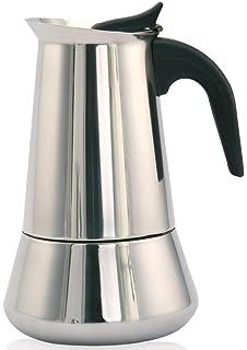 Orbegozo KFI 460 - Cafetera de acero inoxidable, 4 tazas ...