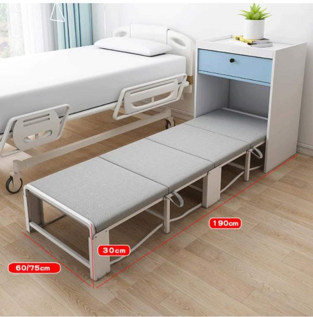 - BAOFUL Folding Single Bed Guest Bed Single Four Fold Sponge Folding Bed  Simple Office Siesta Bed Away Guest Single Beds Super Strong Sturdy Frame  With Portable Universal Wheel: Amazon.co.uk: Kitchen & Home