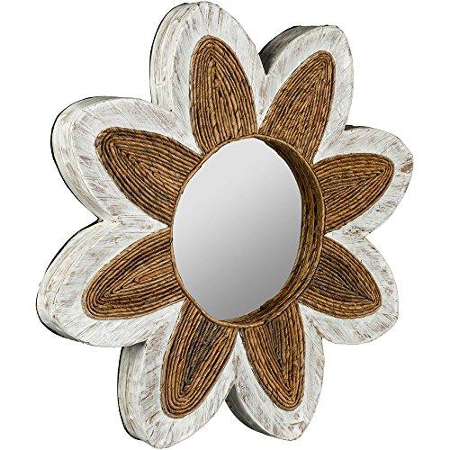 Water Round Hyacinth Mirror - Cooper Classics Framed Round Mirror