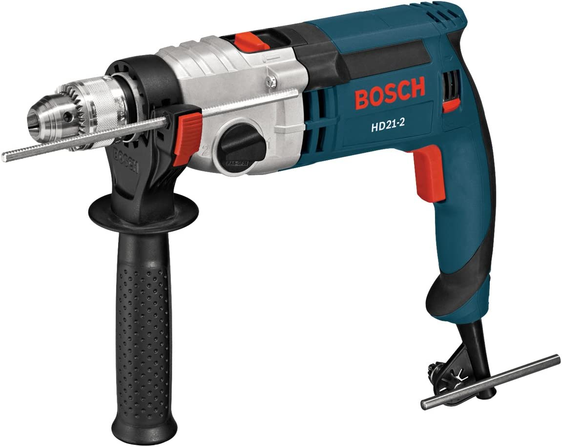 Bosch HD21-2 Speed Hammer Drill, Blue