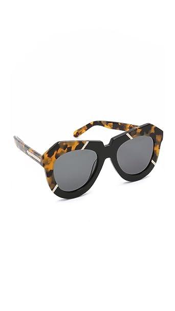 872be0f2ab0 Karen Walker Women s One Splash Sunglasses