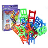 Best unknown Stacking Chairs - 18Pcs Chair Stack Game Stacking Chair Balance Puzzle Review