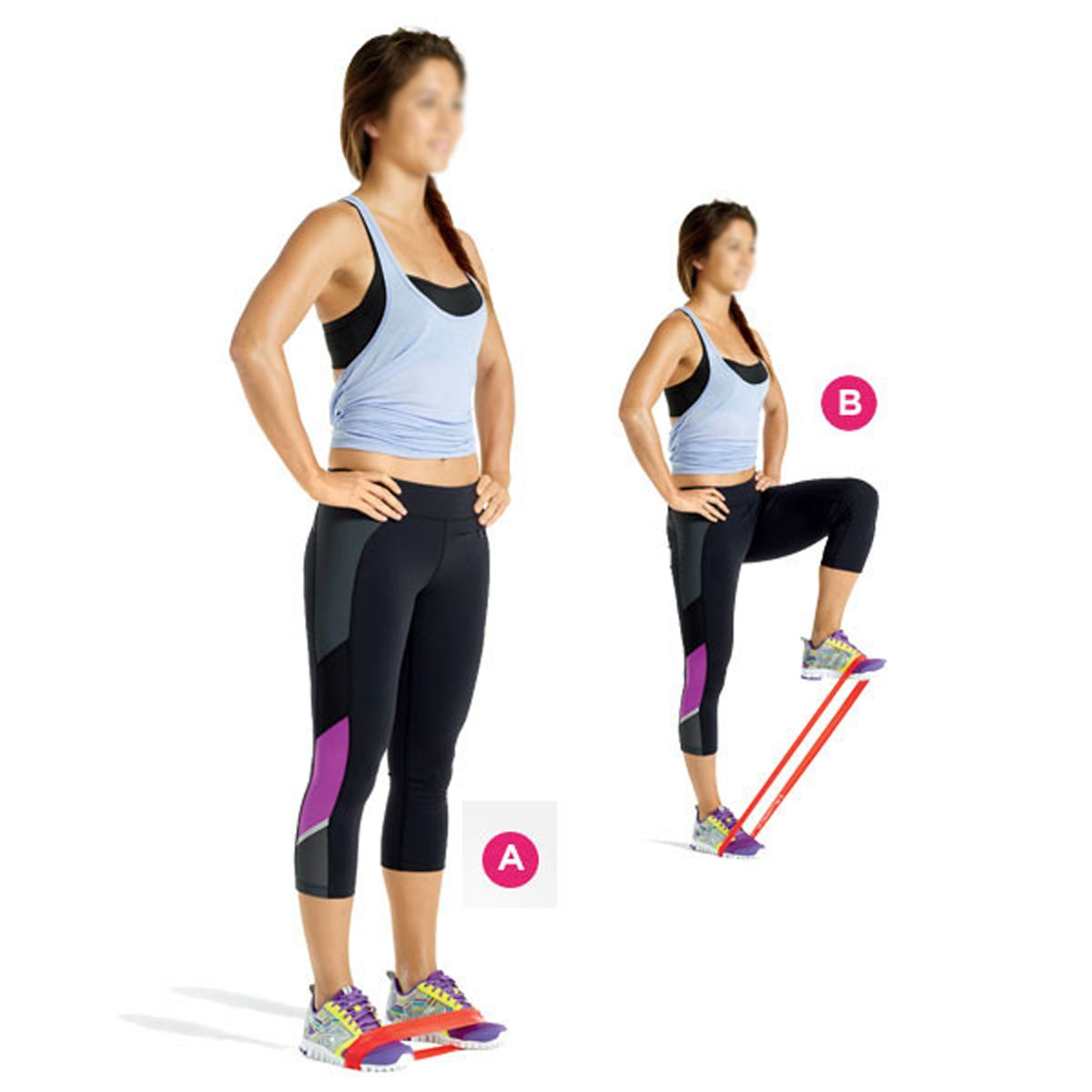 Band Workouts For Legs