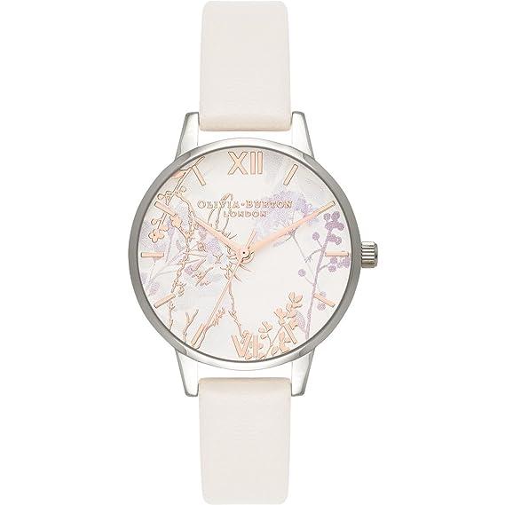 Olivia Burton OB16WL71 - Reloj de pulsera con animales abstractos, apto para veganos: Amazon.es: Relojes