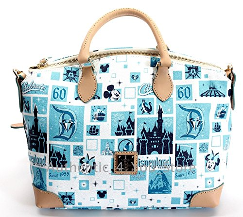 Dooney Disney Bourke Bag Diamond Satchel Celebration 60th Crossbody amp; Purse Disneyland rr7wdq