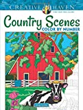 Best Dover Coloring Pencils For Adults - Creative Haven Country Scenes Color by Number Review