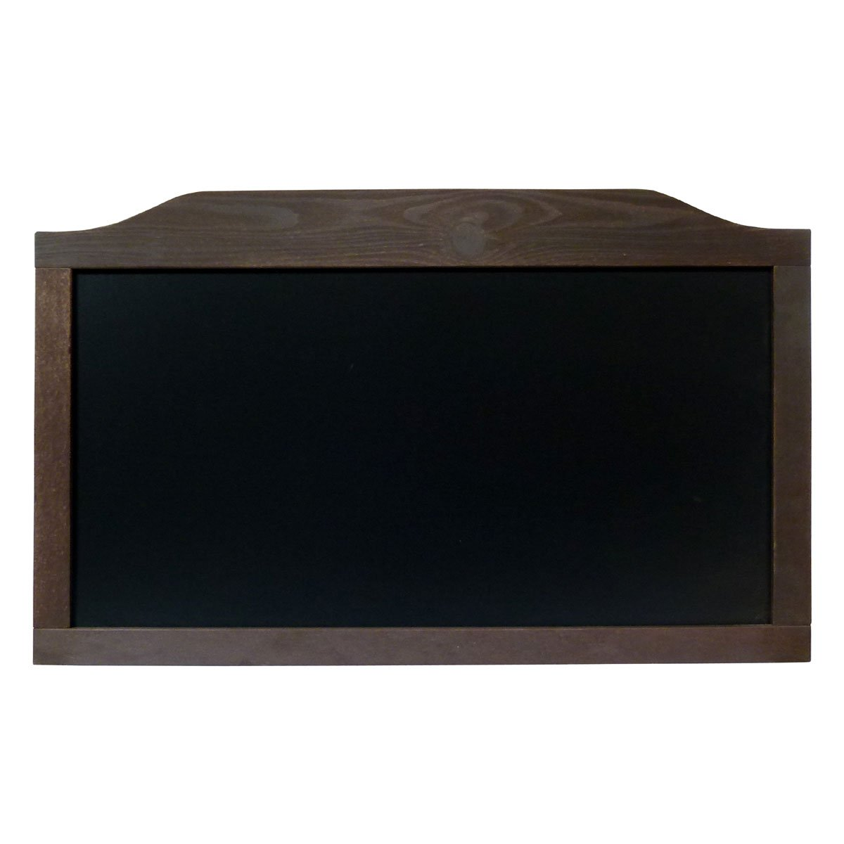 Tafel in schwarzem Holz Tisch für Schreibtisch Pub Restaurant Typ Horizontal