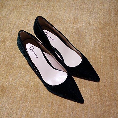 la Zapatos Tac de Qiqi Zapatos Xue de Corte 71wA6vtqx