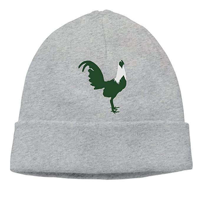 230d8f826c3 Aiw Wfdnn Beanie Hat Green Hen Rooster Daily Knit Cap for Men s at ...