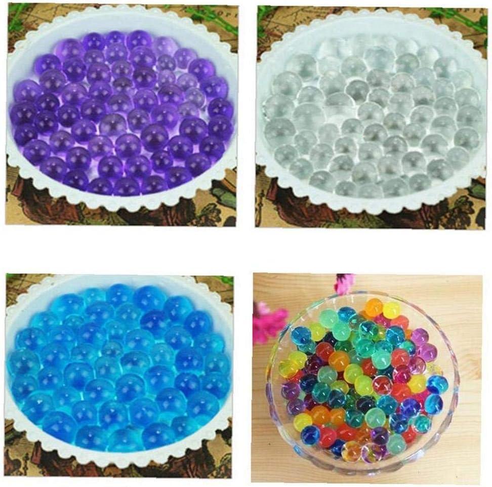 Crystal Arts /& Crafts Boue m/élange OMMO LEBEINDR 5000 X Mixtes Couleurs Cristal Eau Gel Perles Perles Deau Douce Gel/ée