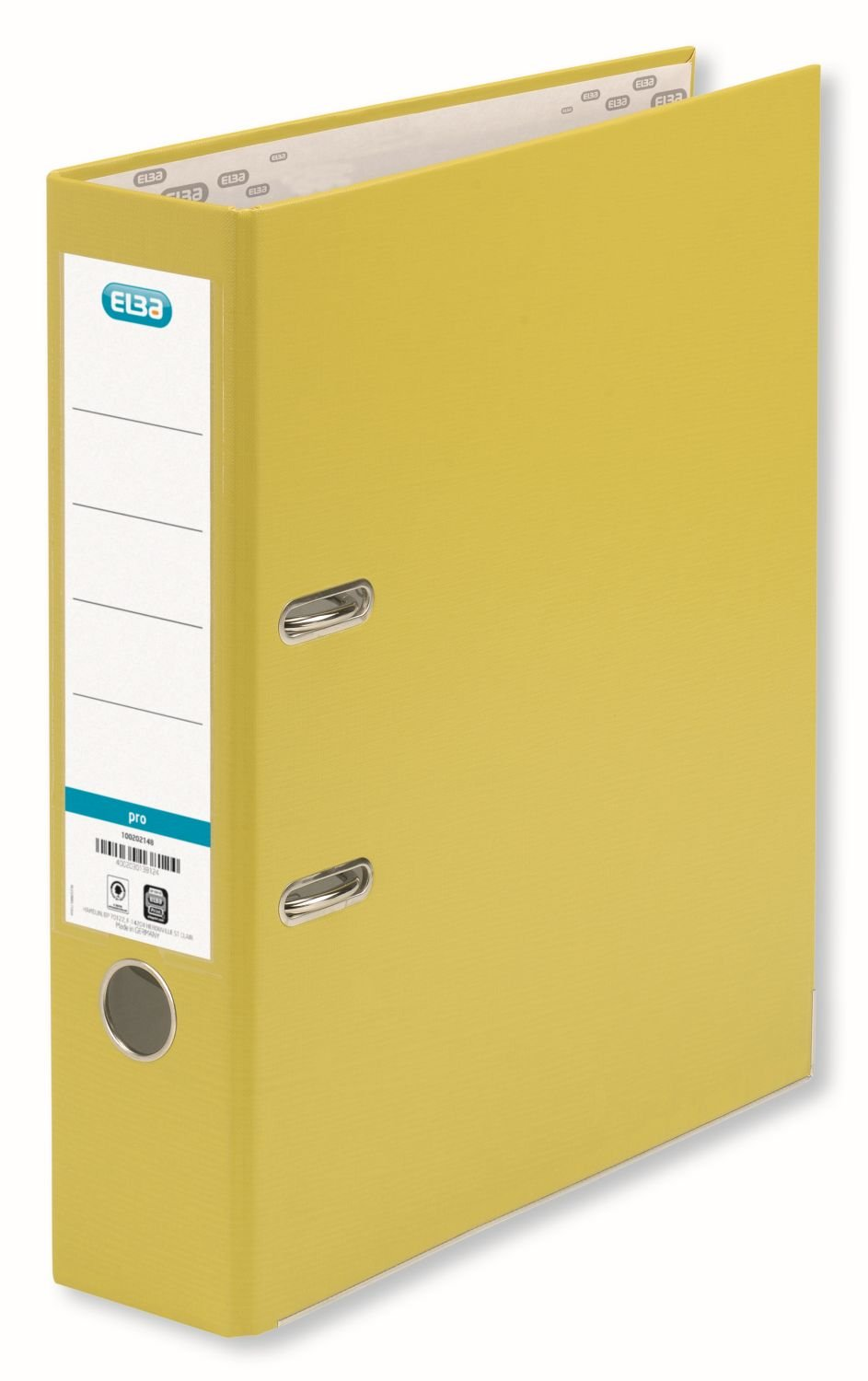 Elba 754257 - Yellow Arch Folder A4 Size, Spin: 80mm