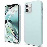 """elago Liquid Silicone Case Compatibel met iPhone 12 Hoesje & Compatibel met iPhone 12 Pro Hoesje (6,1"""") - Vloeibaar…"""