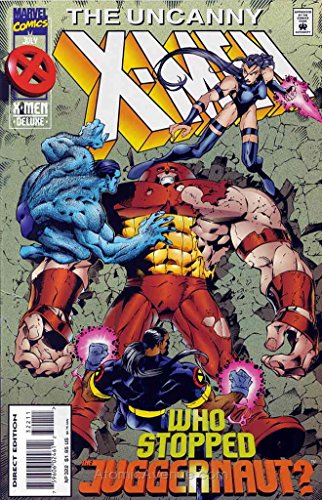 Uncanny X-Men, The #322 Deluxe VF/NM ; Marvel comic book -