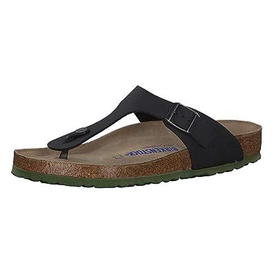 7188af440 Birkenstock Mens  Gizeh Desert Soil Green Thong Sandal  Amazon.co.uk ...