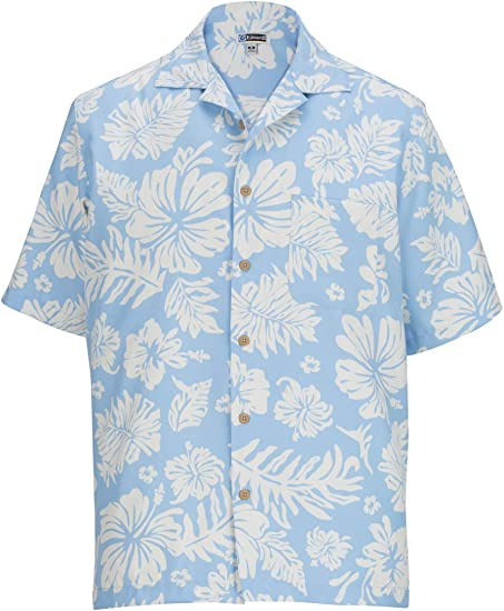 Edwards Hibiscus Multi-Color Camp Shirt