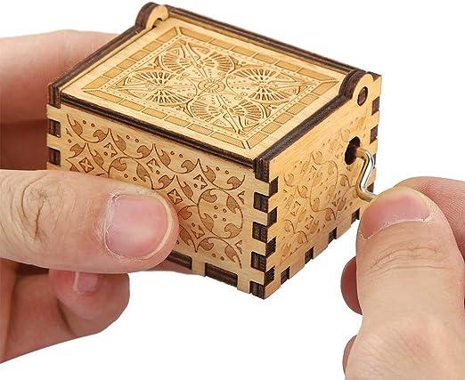 Leinggg Caja de música - Cajas de música para niñas Caja de música ...