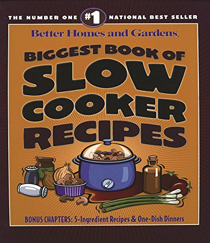Biggest Book of Slow Cooker Recipes (Better Homes and Gardens Cooking) (Slow Cooker Better Homes compare prices)