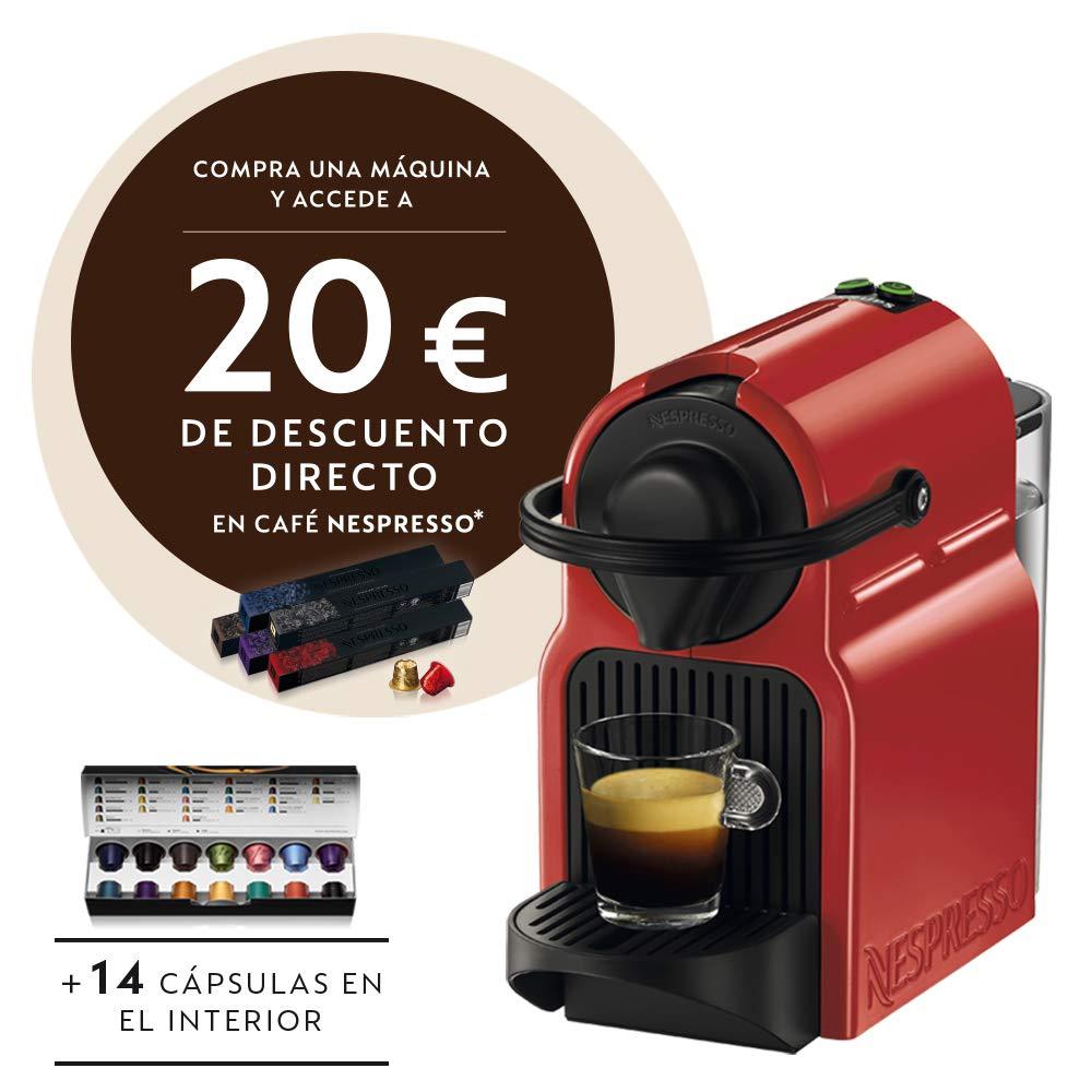 Krups XN1005 Nespresso Inissia - Cafetera monodosis de cápsulas Nespresso