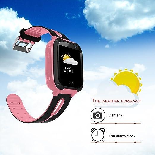 maistore Smartwatch g36 m-s4 1.44 pulgadas táctil niños reloj inteligente con cámara GPRS anti-lost SOS niños reloj inteligente Fitness Rastreador de sueño ...