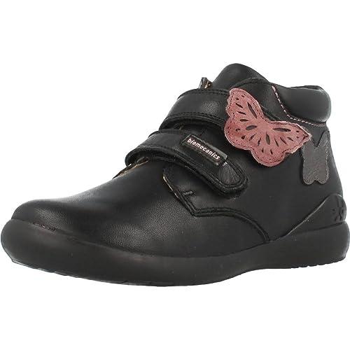 Botin para niña de Color Negro biomecanics-161156: Amazon.es: Zapatos y complementos