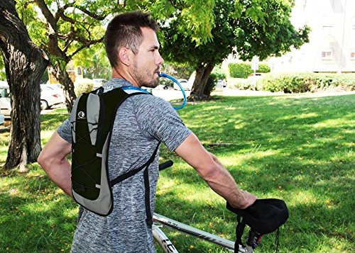 Bike Accessories & Cycling Equipment Set : Bicycle Phone Handlebar Mount (iPhone, Samsung, Etc.), Water Backpack, Bicycles Seats Cushion Cover, Under Seat Pouch, Bikes Repair Tool Kit, Mini Pump by BvBbicycle (Image #5)