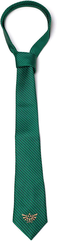 Hyrule Necktie Green The Legend of Zelda Ties Zelda
