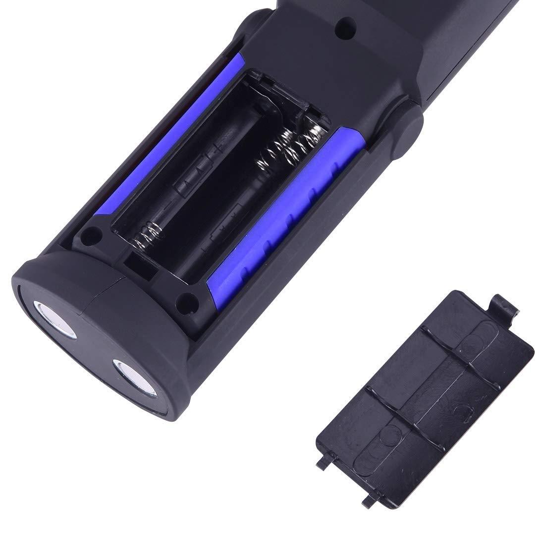 Bien parecido Resistente y duradero duradero duradero PS5W-1 5W COB + 1W F8 400 LM IP43 Impermeable Multifunción Luz blanca LED Antorcha portátil Luz de trabajo de emergencia Luz de soporte de trabajo con magnético y 3 e144e0