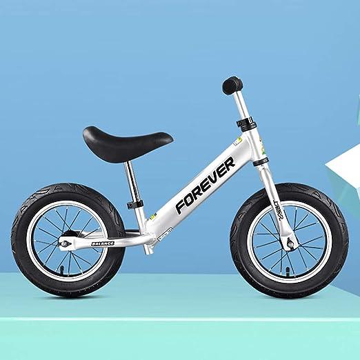 Bicicleta De Equilibrio para Niños con Reposapiés para Niños Y ...