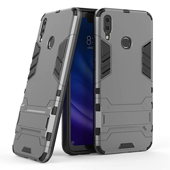 buy online 88974 97a45 Huawei Y9 (2019) Case, CaseExpert Shockproof Rugged Impact Armor Slim  Hybrid Kickstand Protective Cover Case for Huawei Y9 (2019)
