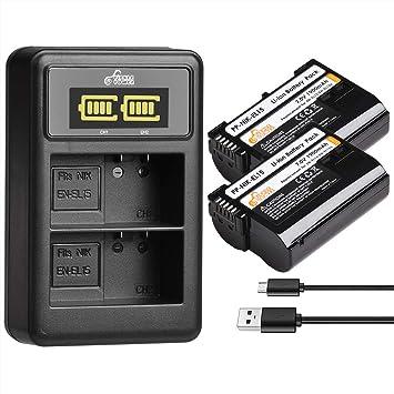 Pickle Power EN-EL15 EN EL15A - Batería y Cargador para ...