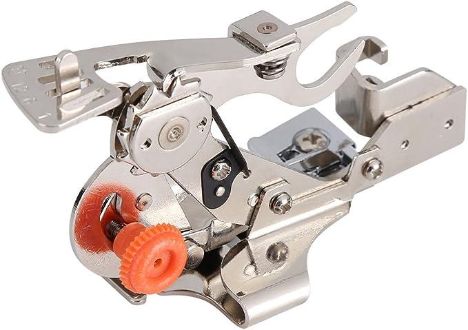 Yosoo Ruffler máquina de coser Presser foot-for todos bajo vástago ...