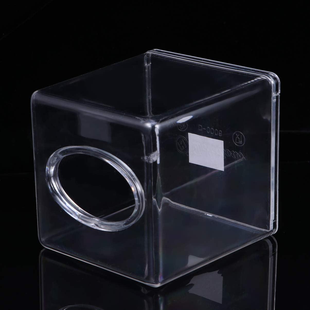 Dispensador de pa/ñuelos faciales transparente para servilletas oficina tocador DOITOOL transparente coche soporte de noche accesorios para encimera