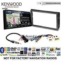 Volunteer Audio Kenwood Excelon DNX994S Double Din Radio Install Kit with GPS Navigation Apple CarPlay Android Auto Fits 2005-2006 Nissan Altima (Without Bose)