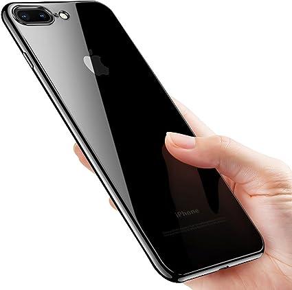 iphone 8 nero cover trasparente