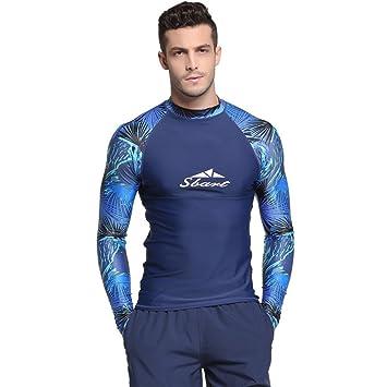 wide range online for sale cheap price SANANG Chemise Rash Guard Homme T-Shirt Manches Longues ...