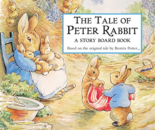 The Tale of Peter Rabbit Story Board Book Beatrix Potter Benjamin Bunny