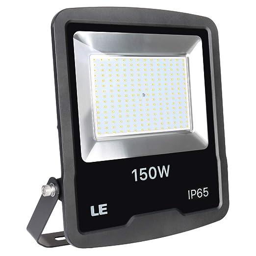 Lighting EVER Foco LED Exteriores 150W=400W SAP, 6500K, 12000 ...