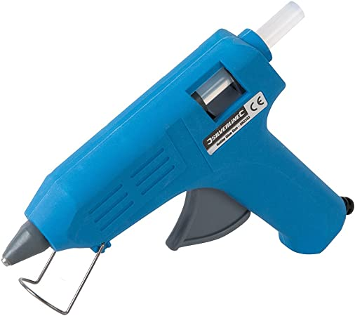 40 W Silverline 583333 Pistolet /à colle pour loisirs cr/éatifs 230 V 15