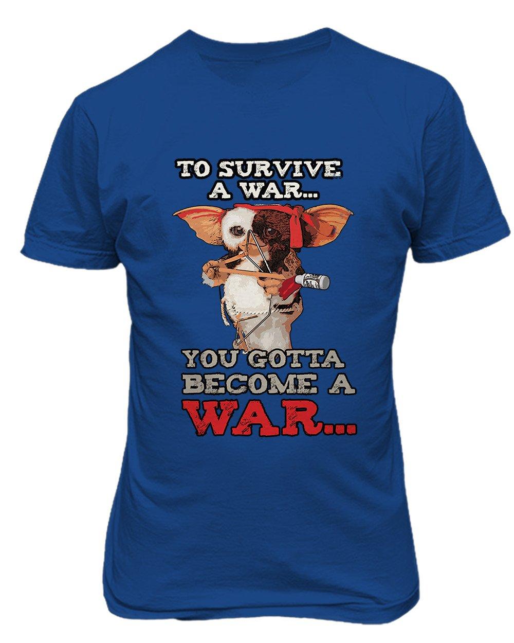 New Novelty Graphic Tee 80s Shirt Gizmo Rambo S Tshirt