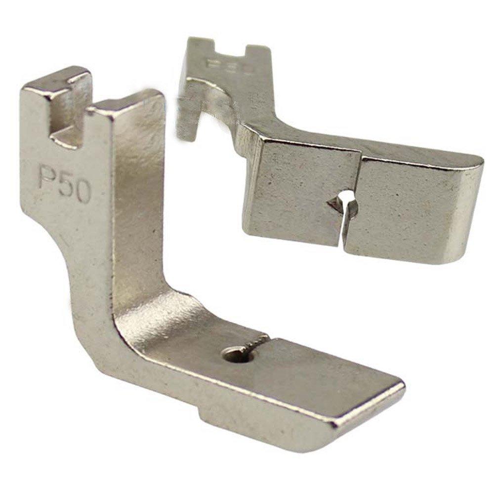 Industrial máquina de coser piezas pies prensatelas P50 que se pliega: Amazon.es: Hogar