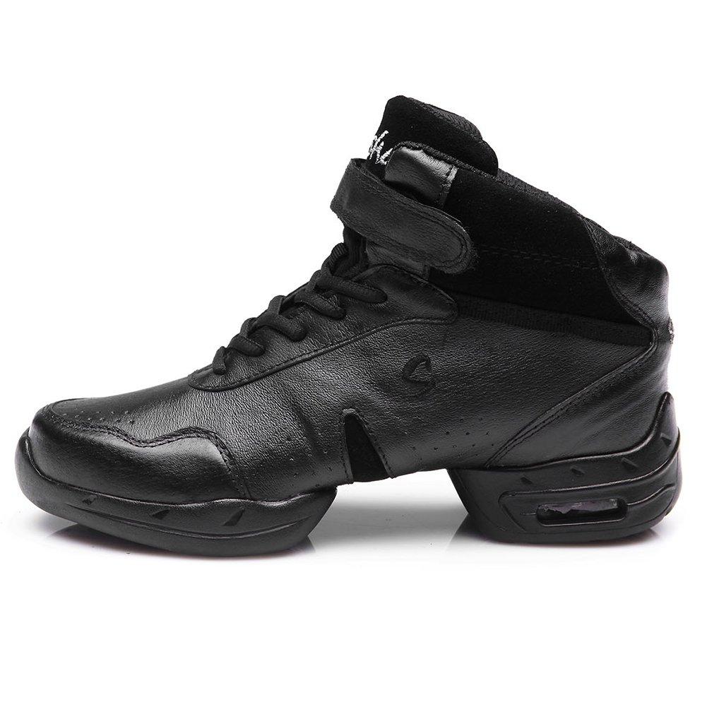 HIPPOSEUS Women Boost Dance Sneaker//Modern Jazz Soft Leather Sport Sneaker,Model B59