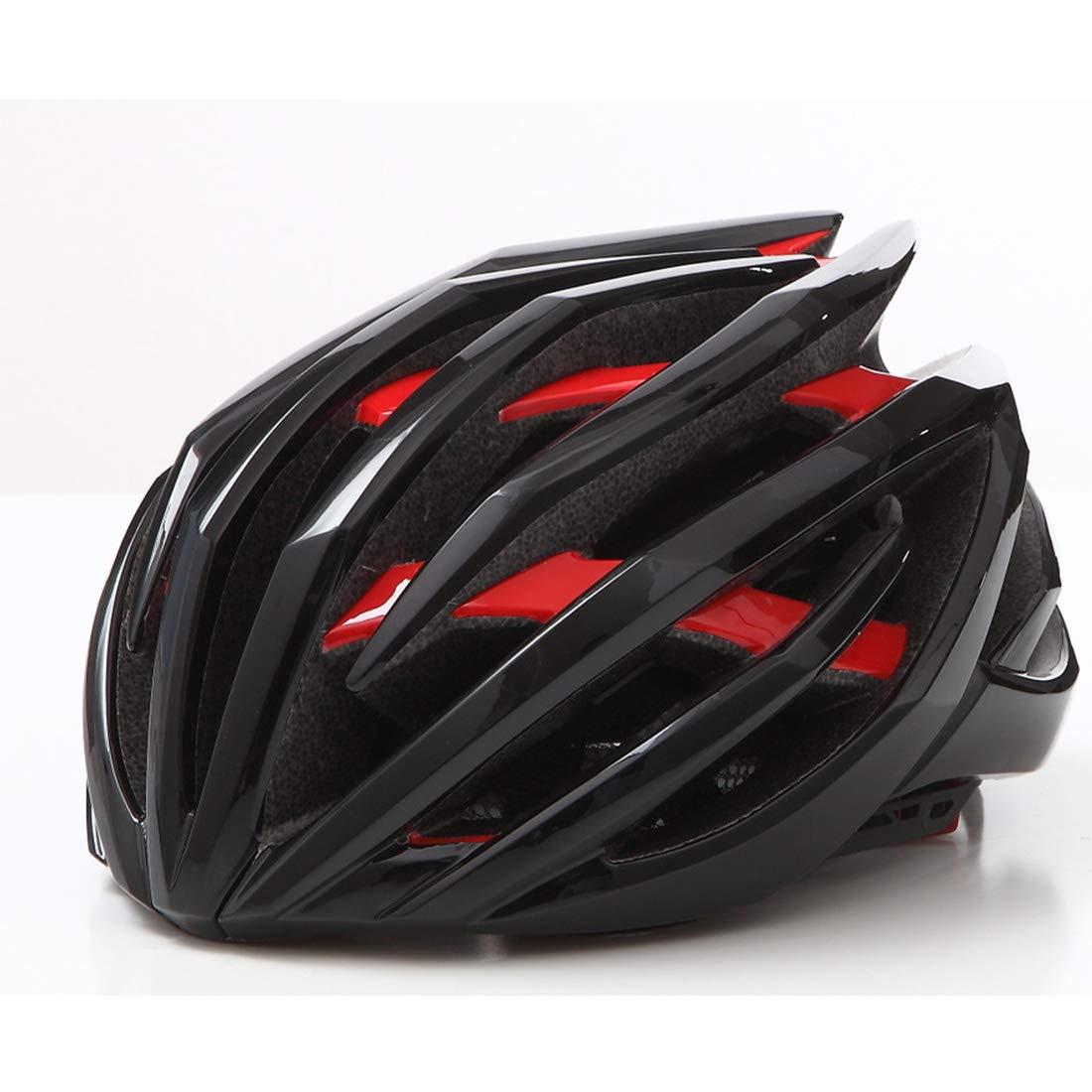 Dhrfyktu Casco da Bicicletta Casco da Bicicletta per Bicicletta Casco per Bicicletta per Adulti Adatto per Gli Appassionati di Ciclismo all'aperto (Colore   A4, Dimensione   M)
