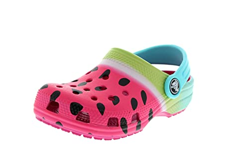 ead08eef7952b Crocs Kids - Classic Ombre Graphic Clog - Candy Pink  Amazon.co.uk ...