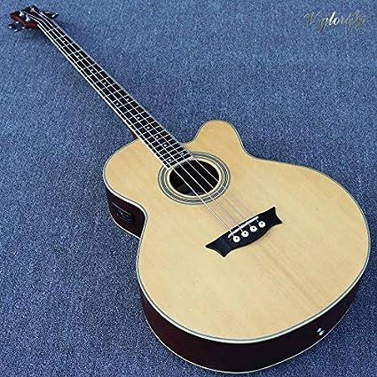 Guitarra acústica eléctrica con ecualizador, 43 pulgadas, 24 ...