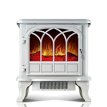 WARMHEAT Calentador Calefactor Electrico Chimenea eléctrica simulación Llama hogar Calentador Chimenea Europea: Amazon.es: Deportes y aire libre
