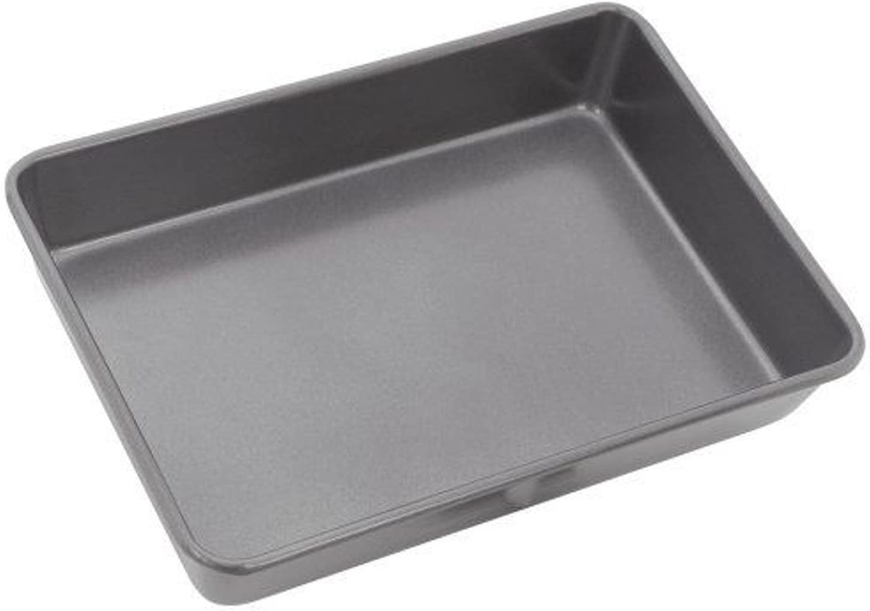 Stellar Baking Tray Black 24 x 18 x 1.5cm, 9/½ x 7 x /½-inch 20 x 30 x 25 cm