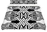KESS InHouse Pom Graphic Design''Africa'' Featherweight Queen Duvet Cover, 88 x 88''