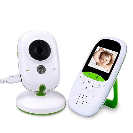 Vigila Bebes con cámara 2.0 pulgadas LCD 2.4 GHz Wireless ...